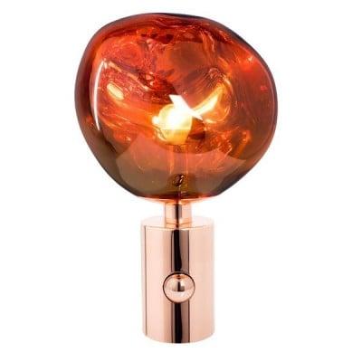 Lampe de table en fonte